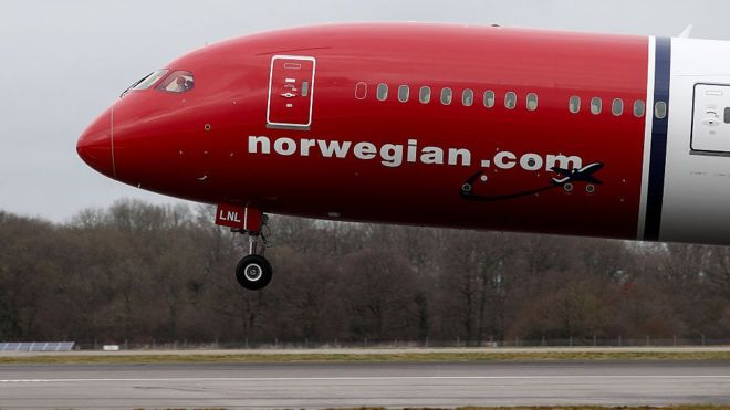"""Norwegian Air Shuttle ASA"" presented the new tariffs."